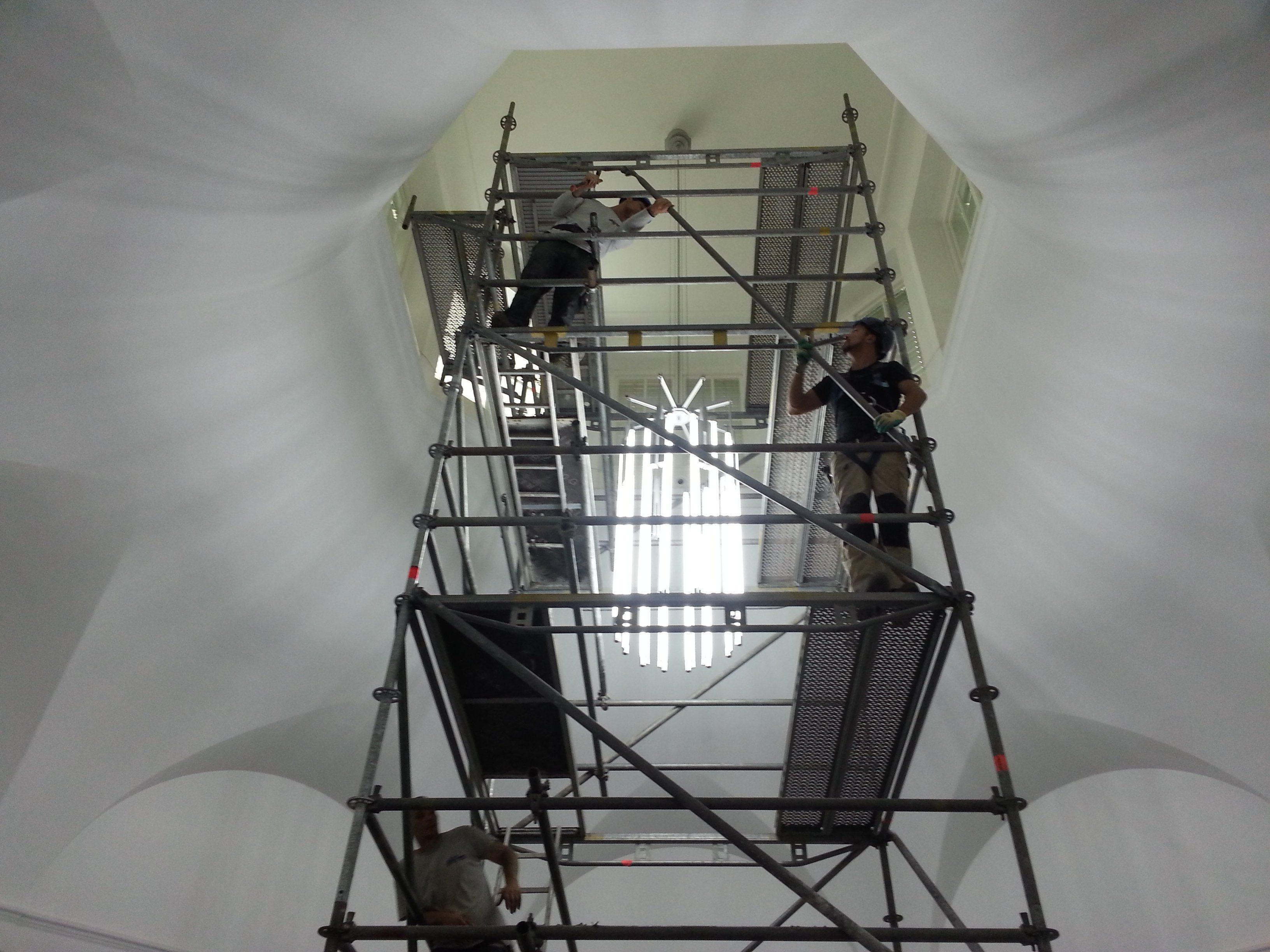 Landesmuseum Wiesbaden, Sanierung der Oberlichtgaden